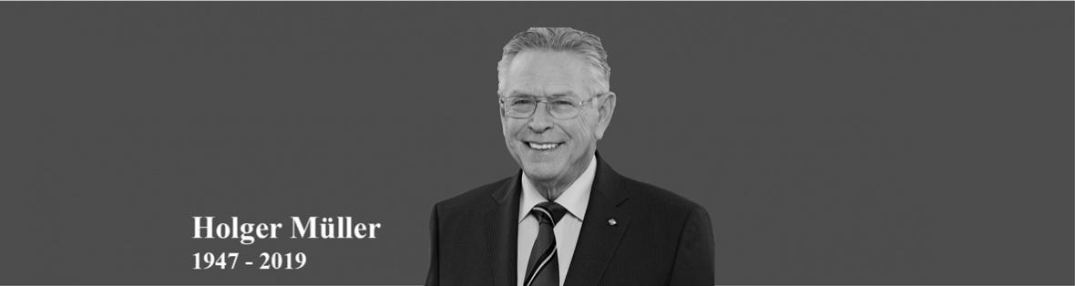 Wir trauern um Holger Müller