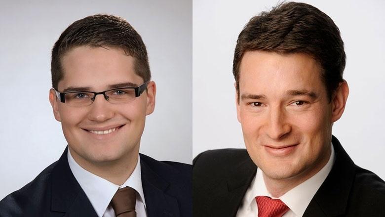 Christian Klicki und Uwe Pakendorf