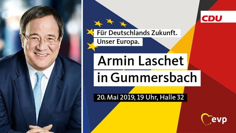 Armin Laschet in Gummersbach