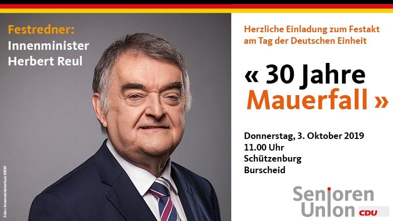 Tag der Deutschen Einheit 2019