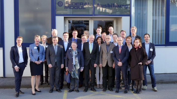 3. Kommunalforum bei Federal-Mogul in Burscheid