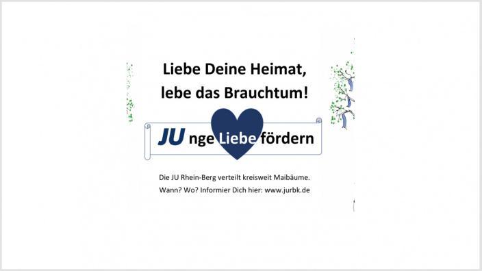 Kreis-JU verteilt kostenlose Maibäume