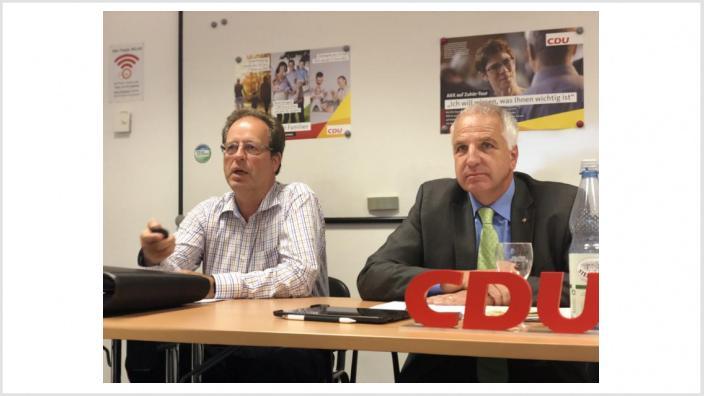 Peter Lautz und Rainer Deppe MdL