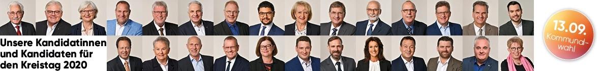 Kreistagskandidaten