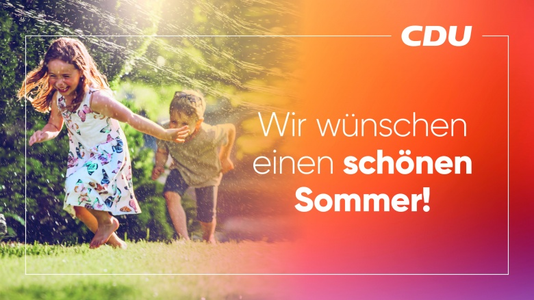 Wir wünschen einen schönen Sommer!