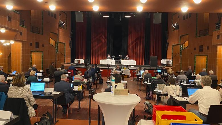 Konstituierende Sitzung des Kreistages im Bergischen Löwen