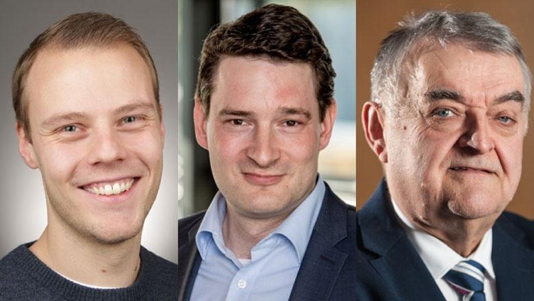 Stefan Knecht, Uwe Pakendorf, Herbert Reul