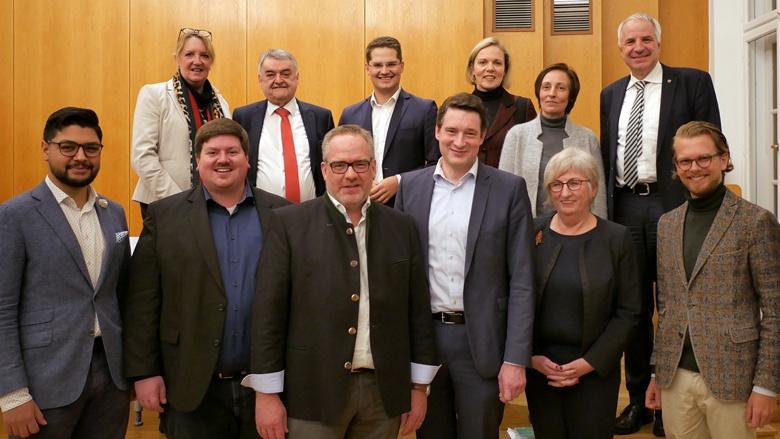 Starke Rhein-Berger Delegation