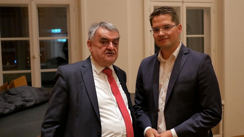 Herbert Reul und Dr. Christian Klicki