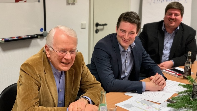 Hubertus Prinz zu Sayn-Wittgenstein, Uwe Pakendorf, Maurice Winter