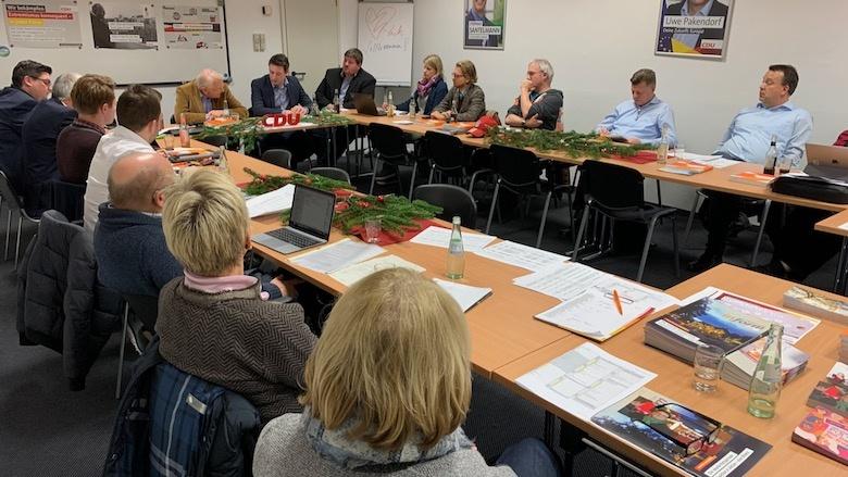EKV-Sitzung in der Kreisgeschäftsstelle
