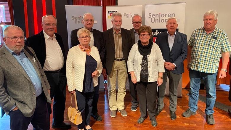 Der neugewählte Senioren-Union-Kreisvorstand