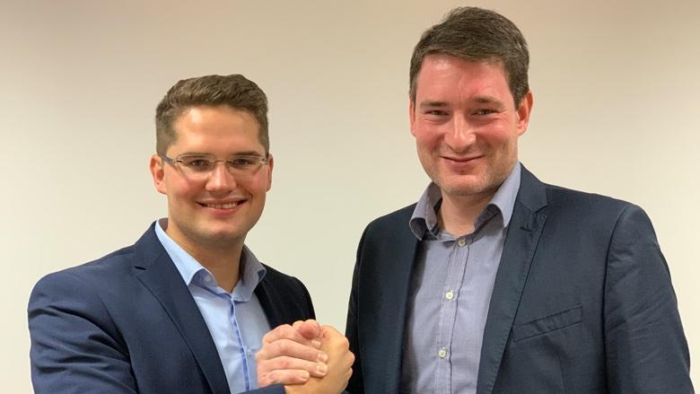 Dr. Christian Klicki und Uwe Pakendorf