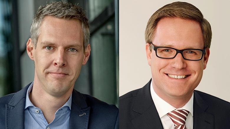 Thomas Hartmann und Dr. Michael Metten
