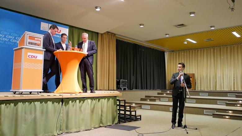Fragen von Mitgliedern bei der Lokalkonferenz in Burscheid