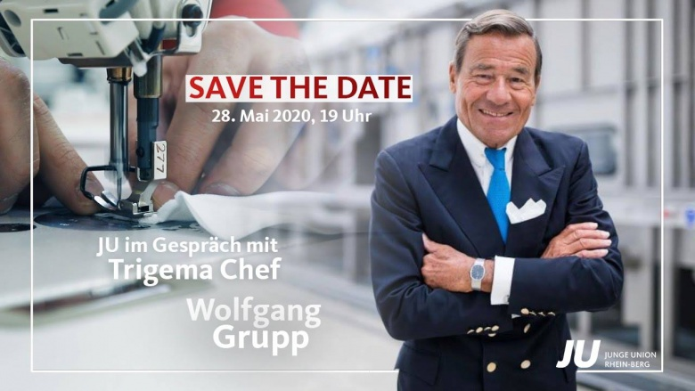 JU trifft Trigema-Chef Wolfgang Grupp