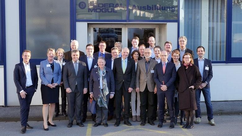 3. Kommunalforum bei Federal-Mogul in Burscheid
