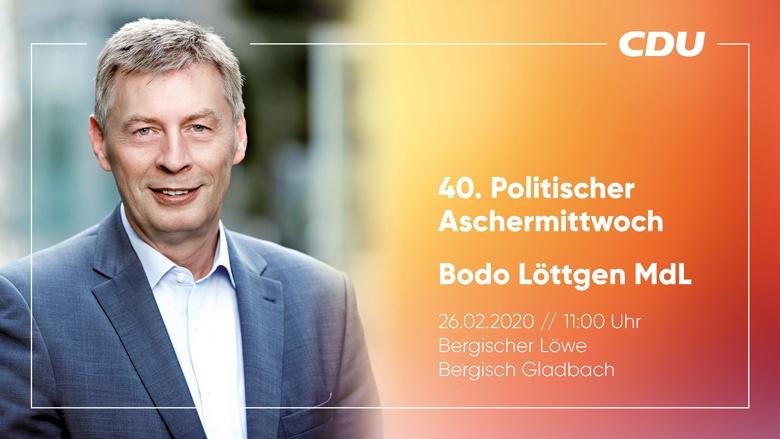 40. Politischer Stammtisch mit Bodo Löttgen MdL