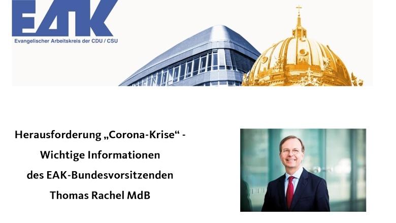 EAK-Info zur Corona-Krise