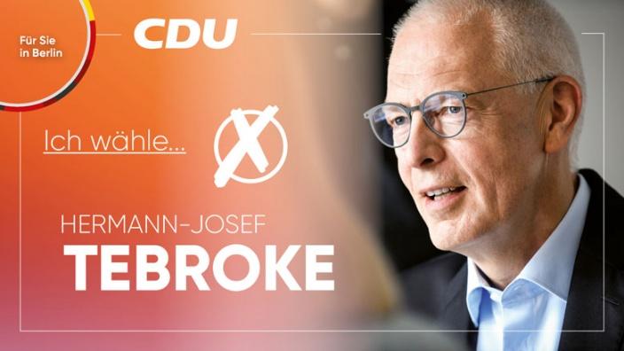 Wir wählen Hermann-Josef Tebroke!