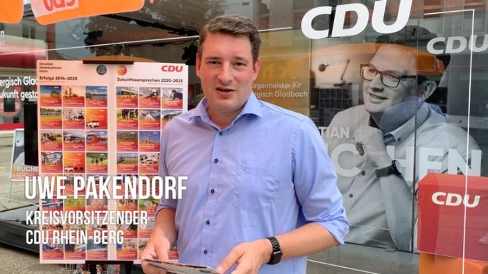Uwe Pakendorf stellt Wahlprogramm vor