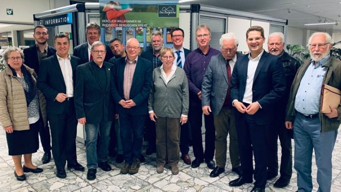 Teilnehmer der CDA-Mitgliederversammlung