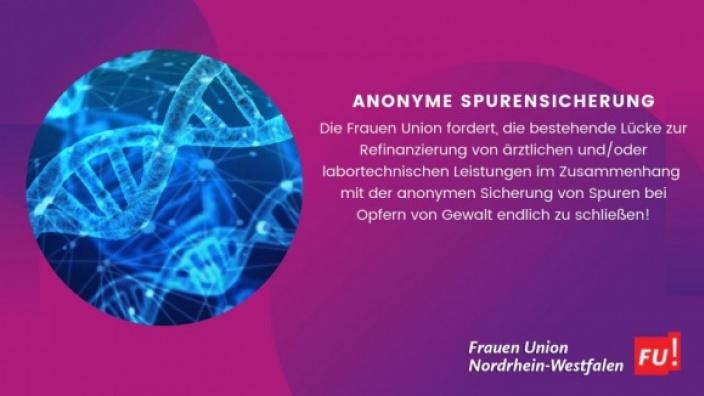 Anonyme Spurensicherung