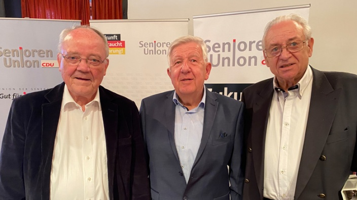 Heinz Wilgenbusch, Manfred Klein, Peter Schöll