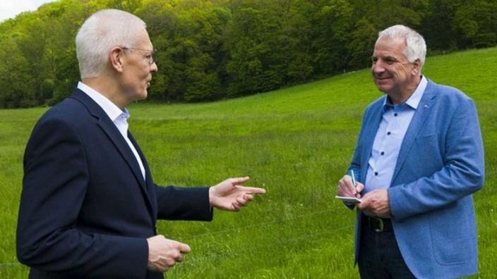 Dr. Hermann-Josef Tebroke MdB und Rainer Deppe MdL im Gespräch