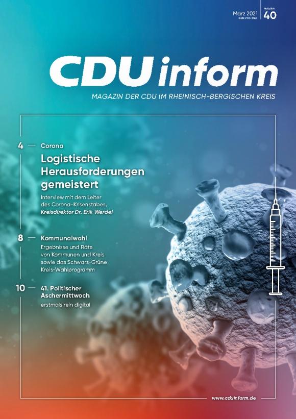 CDUinform #40 (März 2021)