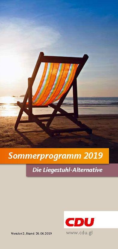 Sommerprogramm 2019 Bergisch Gladbach
